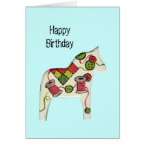 Sewing Theme Birthday Card