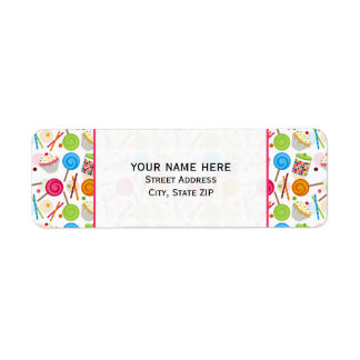 Sewing Themed Address Label