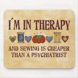 Sewing Therapy Mouse Pad