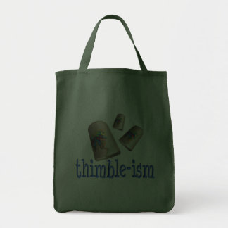 Sewing Thimble-ism Canvas Bag