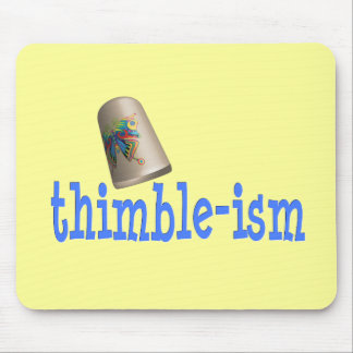 Sewing Thimble-ism Mouse Pad