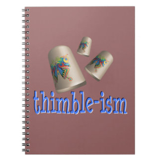 Sewing Thimble-ism Note Books