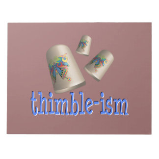 Sewing Thimble-ism Note Pads