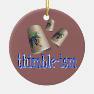 Sewing Thimble-ism Ornament