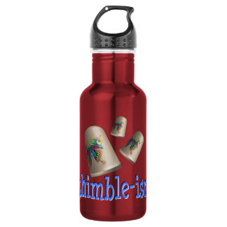 Sewing Thimble-ism 18oz Water Bottle