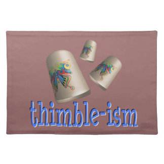 Sewing Thimble-ism Place Mat