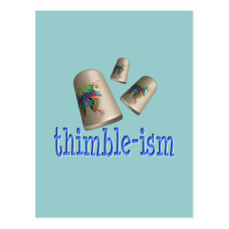 Sewing Thimble-ism Postcards