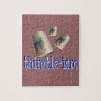 Sewing Thimble-ism Jigsaw Puzzles