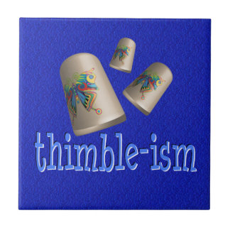 Sewing Thimble-ism Tile