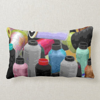 Sewing thread pillow