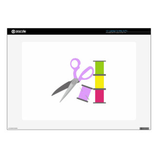 "SEWING TOOLS 15"" LAPTOP DECALS"