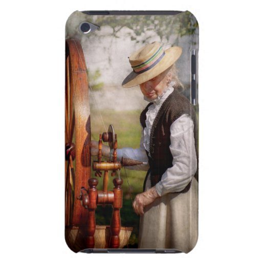 Sewing - Weaving - Big wheel keep on turning iPod Case-Mate Cases