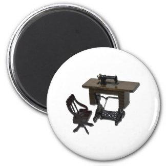 SewingMachineChair110511 Fridge Magnet