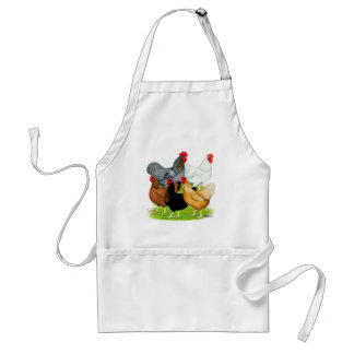 Sex-linked Chickens Quintet Adult Apron