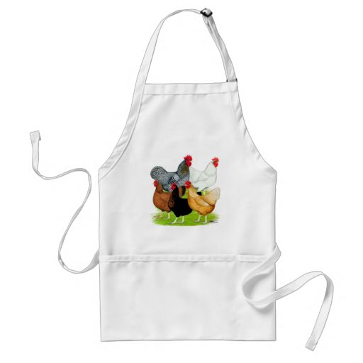 Sex-linked Chickens Quintet Apron