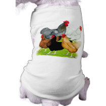 Sex-linked Chickens Quintet T-Shirt