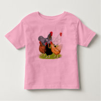Sex-linked Chickens Quintet Toddler T-shirt