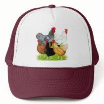 Sex-linked Chickens Quintet Trucker Hat