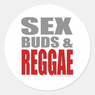 SexBuds & REGGAE Stickers