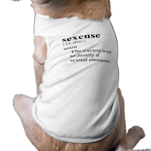 SEXCUSE PET CLOTHING