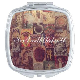 SexDeathRebirth Compact Mirror