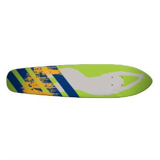 Sexie Woman Deck Skate Boards