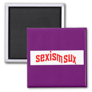 sexism sux Square Magnet