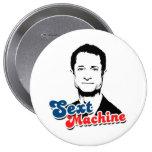 SEXT MACHINE 4 INCH ROUND BUTTON