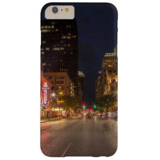 Sexta calle en la oscuridad en Austin céntrico, Funda Para iPhone 6 Plus Barely There