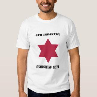 Sexta camisa de visita turístico de excursión