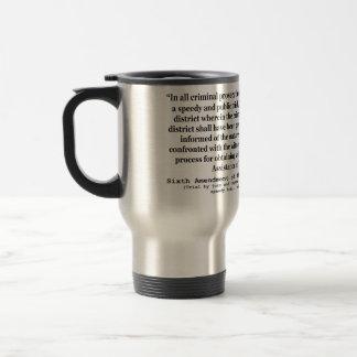 Sexta enmienda a la constitución de Estados Unidos Tazas De Café