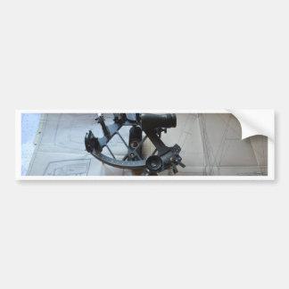 Sextant For Celestial Navigation Bumper Sticker