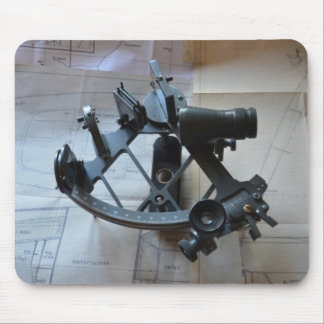 Sextant For Celestial Navigation Mouse Pad