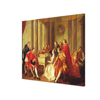 Sextet, 1768 gallery wrap canvas