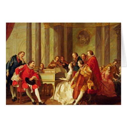 Sextet, 1768 felicitación