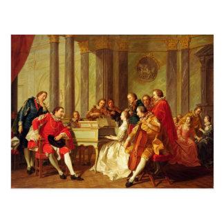 Sextet, 1768 postcard
