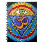 Sexto chakra, tercer ojo cuaderno