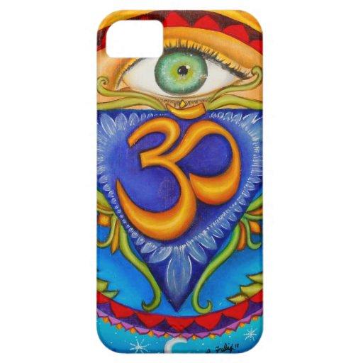 Sexto chakra, tercer ojo iPhone 5 Case-Mate coberturas
