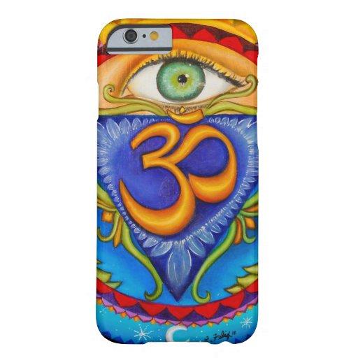 Sexto chakra, tercer ojo funda de iPhone 6 barely there