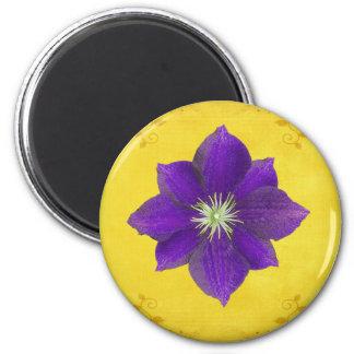 Sexto regalo de Chakra - tercer ojo Imán Redondo 5 Cm