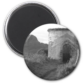 Sexton Burrow Lookout Tower. England 2 Inch Round Magnet
