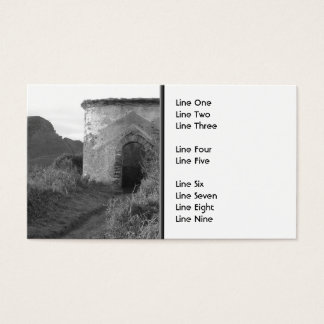 Sexton Burrow Lookout Tower. England Business Card