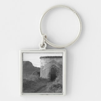 Sexton Burrow Lookout Tower. England Keychain
