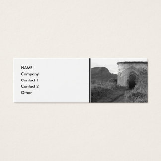 Sexton Burrow Lookout Tower. England Mini Business Card