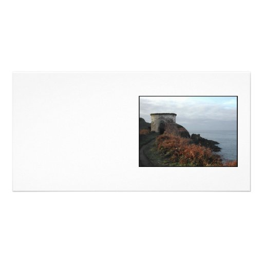 Sexton Burrow Lookout Tower. England Customized Photo Card