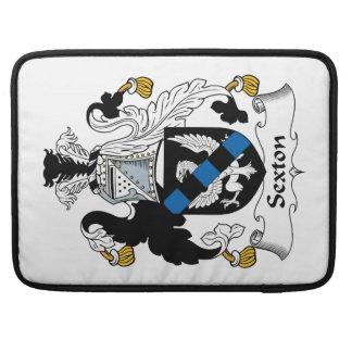 Sexton Family Crest MacBook Pro Sleeve