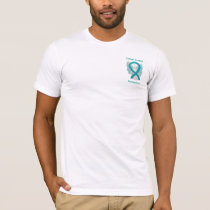 Sexual Assault Awareness Ribbon Angel Custom Shirt