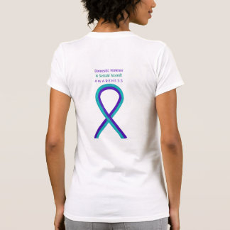 Sexual Assault & Domestic Violence Ribbon Shirts