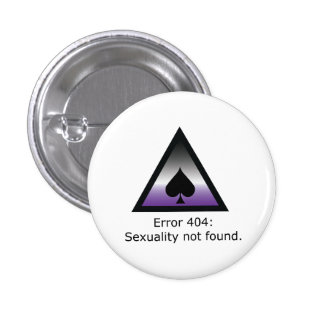 Sexuality 404 pinback button