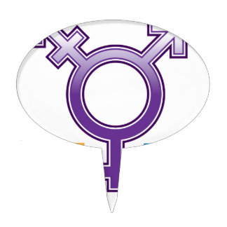 Sexuality Symbol Cake Topper